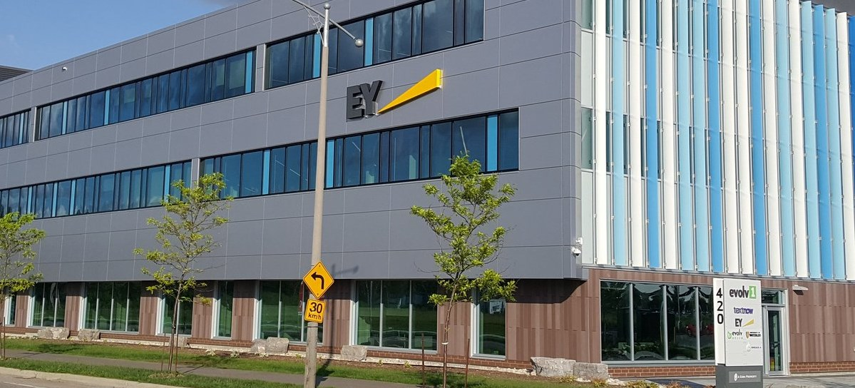 evolv1 building in Waterloo
